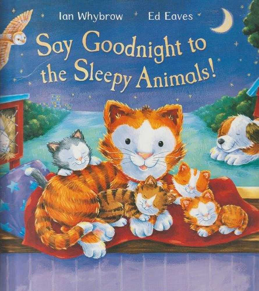 Image for Say Goodnight To The Sleepy Animals!