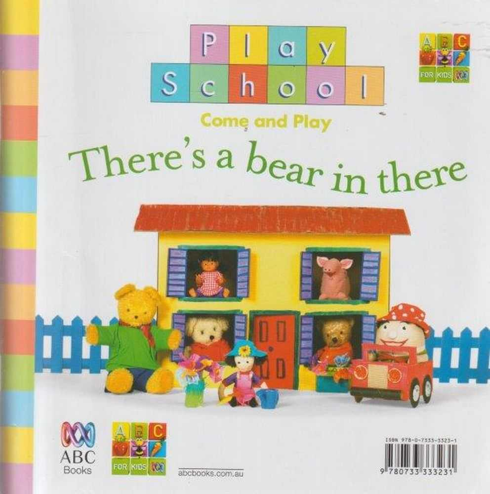 Image for Two Books In One: There's A Bear In There / Let's Play Dinosaurs!