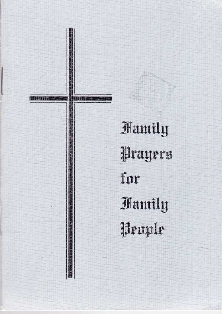 Image for Family Prayers for Family People