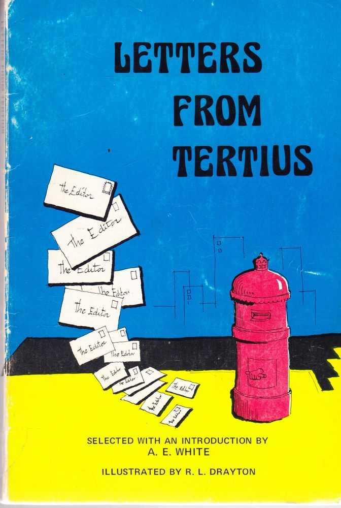Image for Letters from Tertius