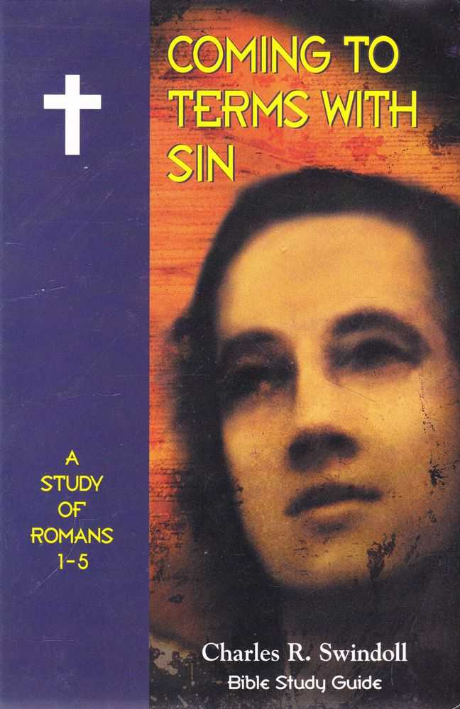 Image for Coming To Terms with Sin: A Study of Romans 1-5 [Bible Study Guide]