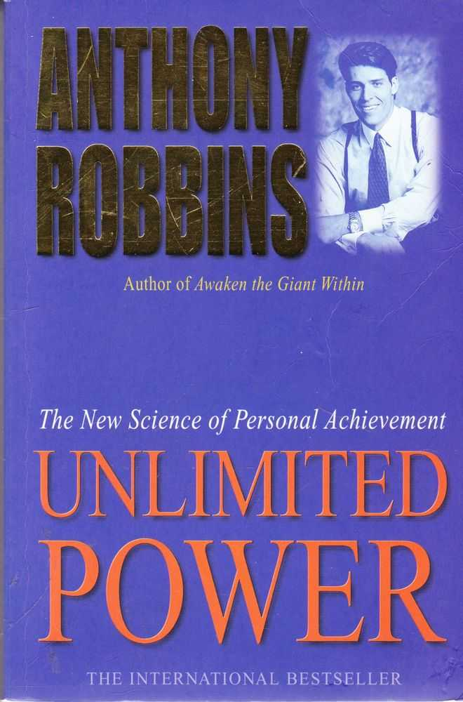 Image for Unlimited Power: The New Science of Personal Achievement