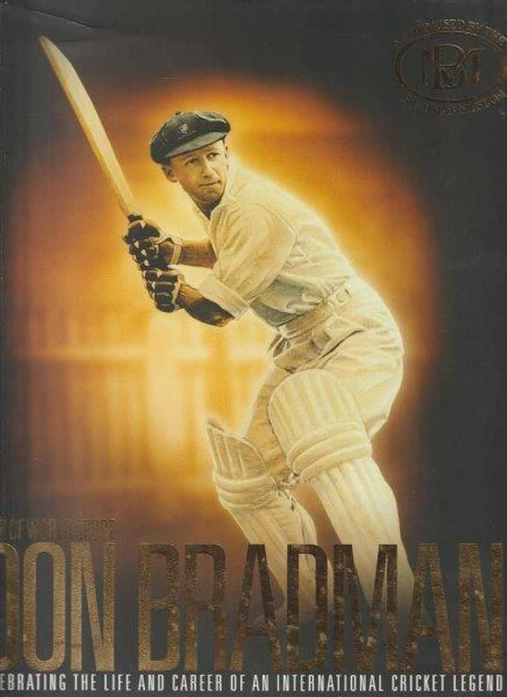 Image for Icons Of World Sport Don Bradman - Celebrating The Life And Career Of An International Cricket Legend - Authorised By The Bradman Museum Bowral