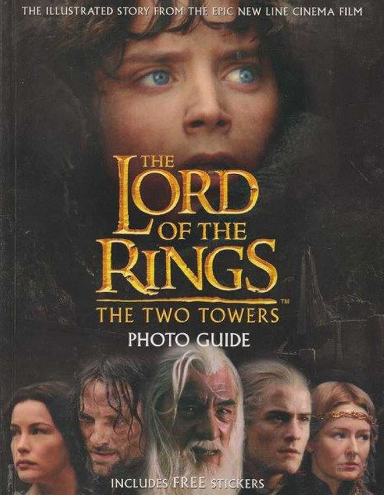 Image for The Lord Of The Rings - The Two Towers - Photo Guide - Includes FREE Stickers