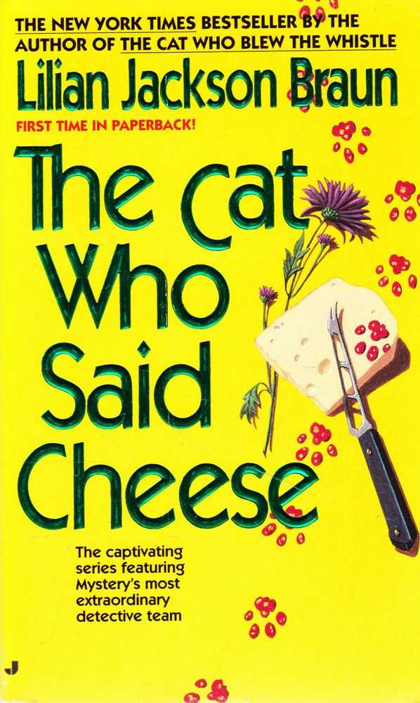 Image for The Cat Who Said Cheese