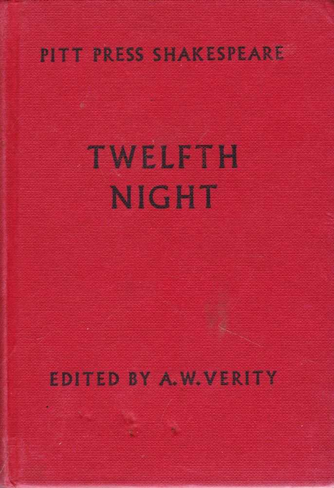 Image for Twelfth Night or What You Will [Pitt Press Shakespeare]