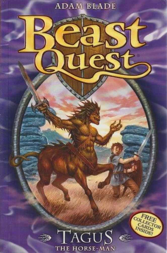 Image for Beast Quest: 4: Tagus - The Horse-Man