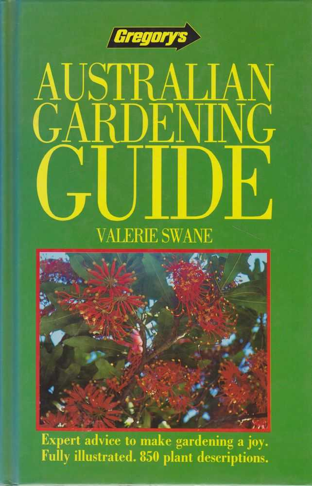 Image for Gregory's Australian Gardening Guide