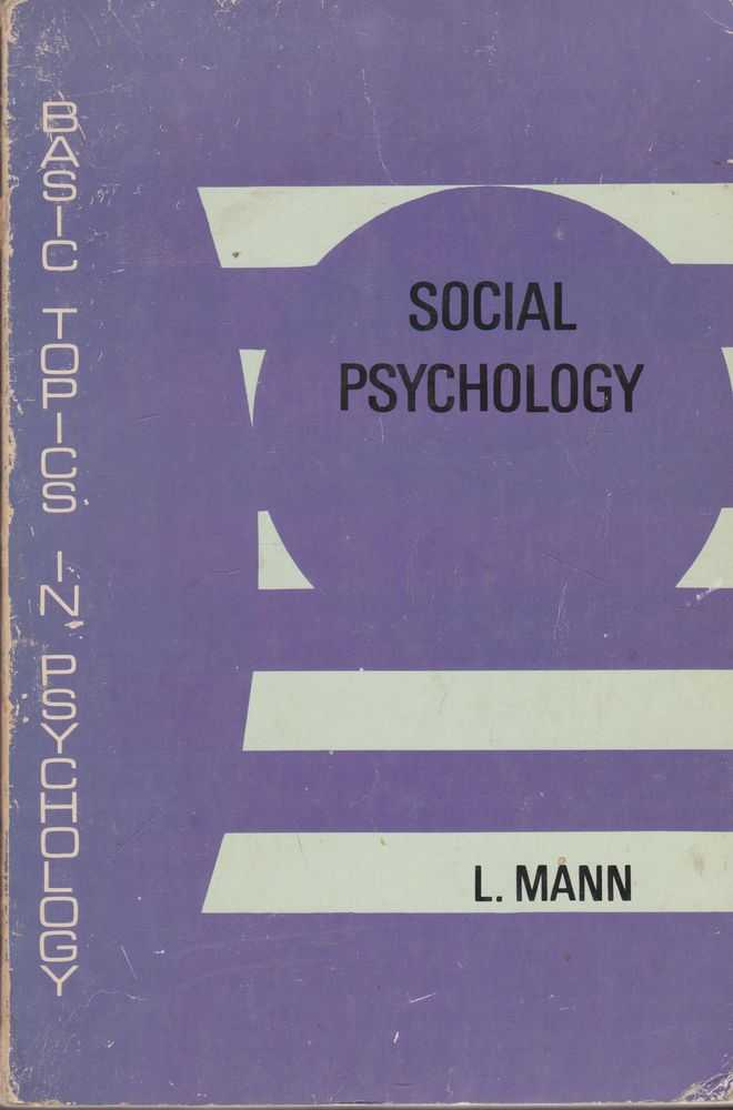 Image for Social Psychology