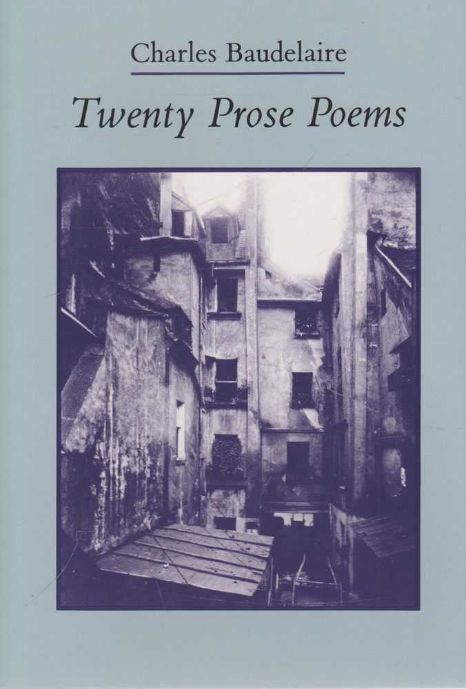 Image for Twenty Prose Poems