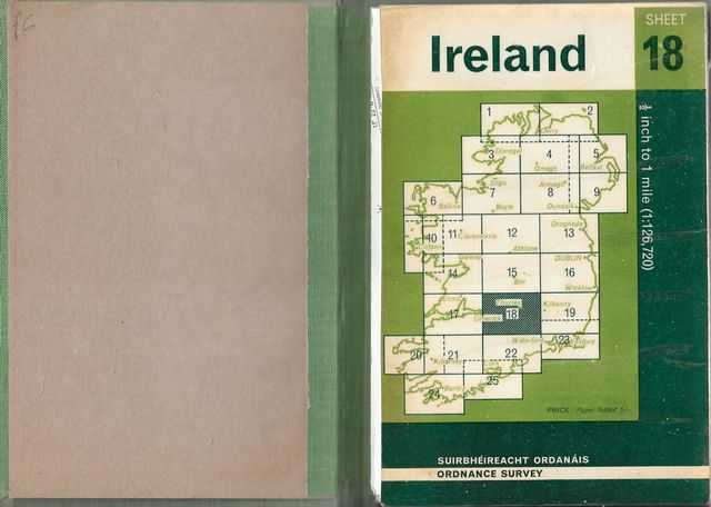 Image for Tipperary: Ordnance Map of Ireland Sheet 18 1/2 inch to 1 mile