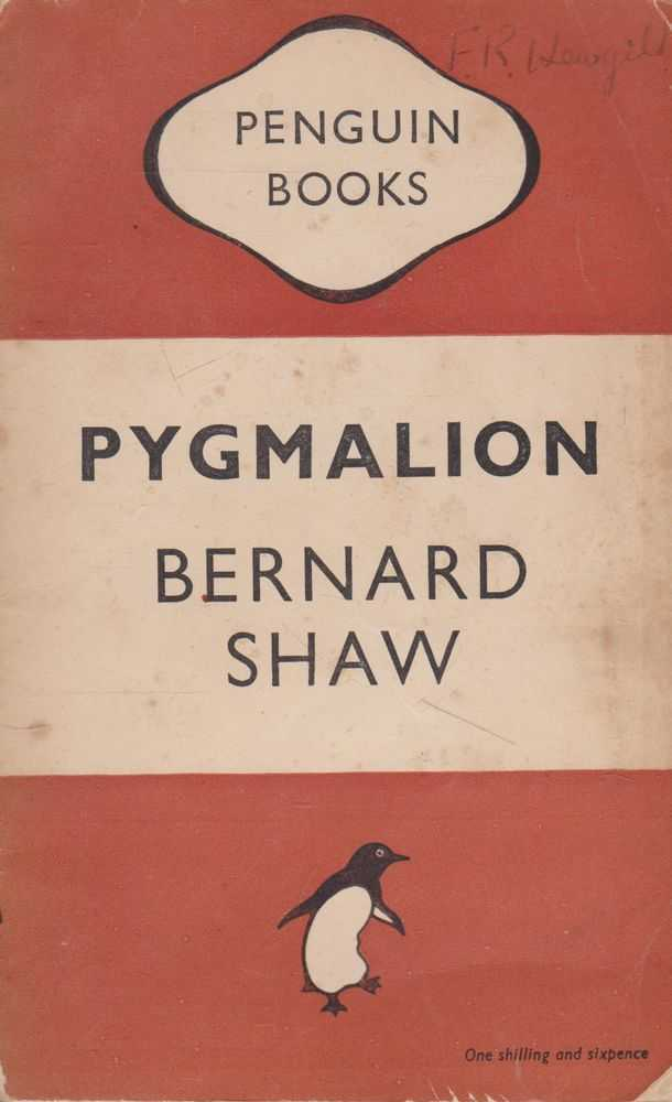 Image for Pygmalion: A Play in Five Acts