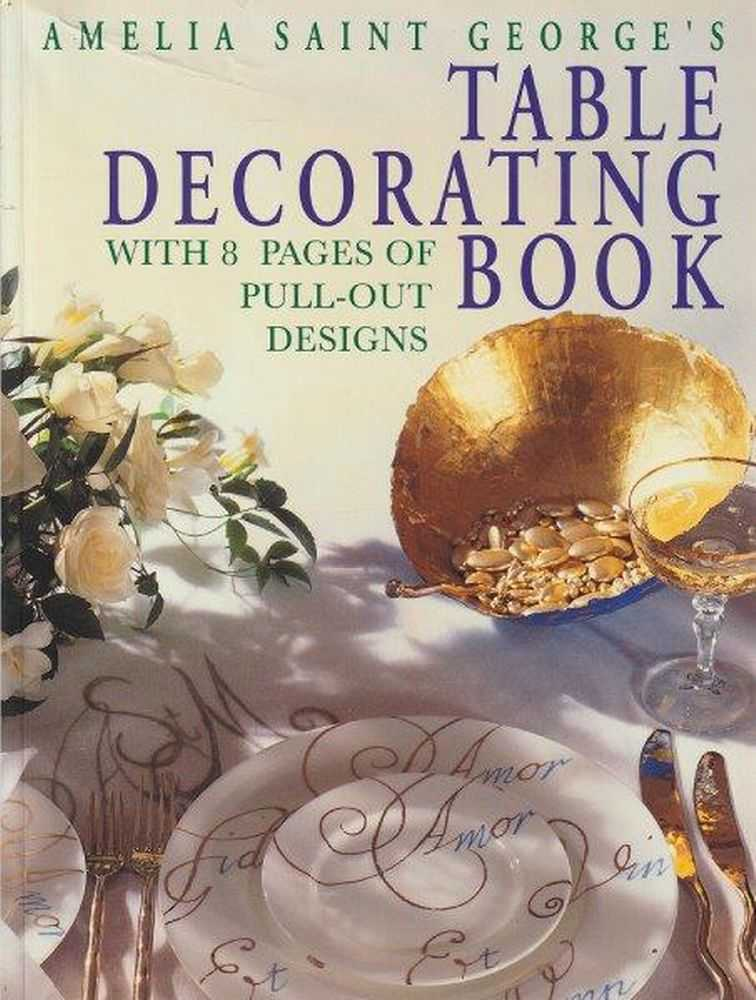 Image for Table Decorating Book With 8 Pages Of Pull-Out Designs