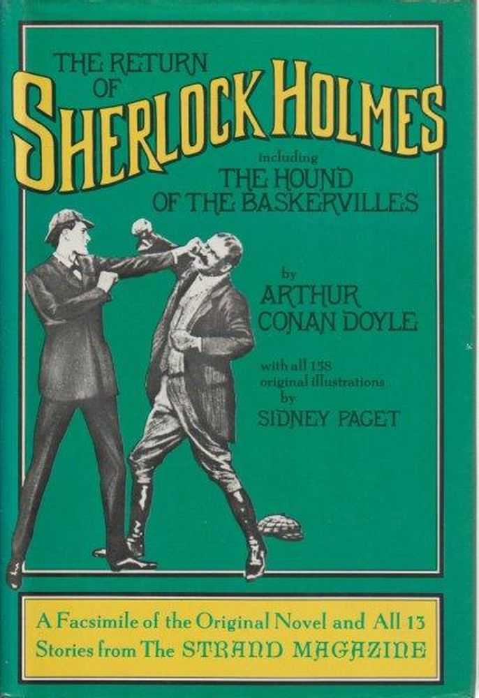 Image for The Return Of Sherlock Holmes Including The Hound Of The Baskervilles