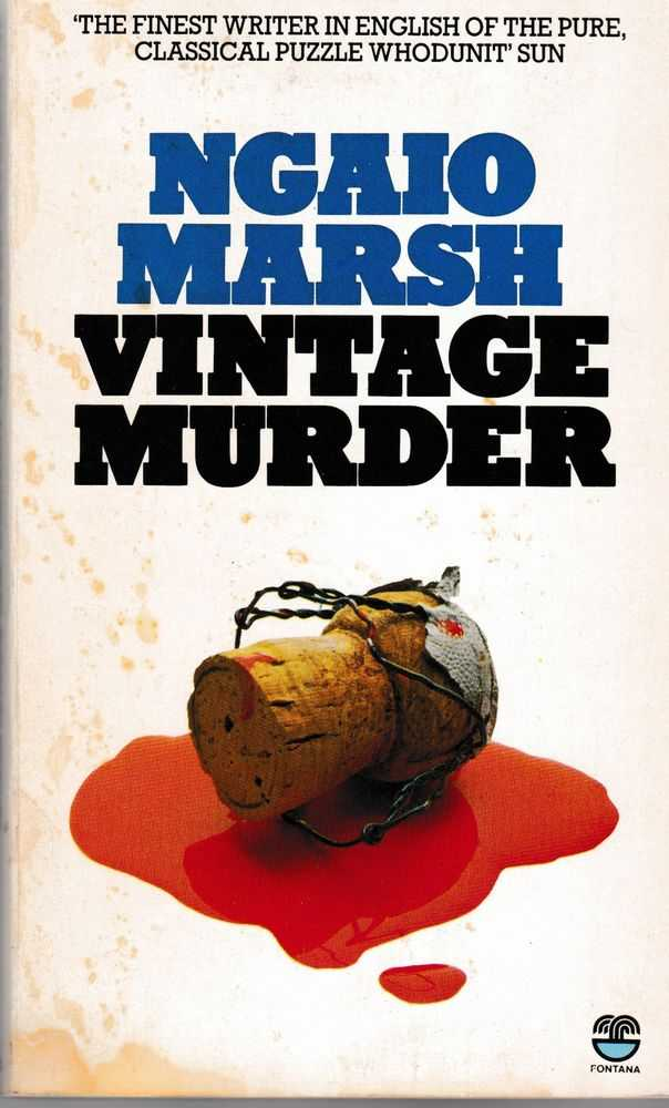 Image for Vintage Murder [A Roderick Alleyn Mystery]