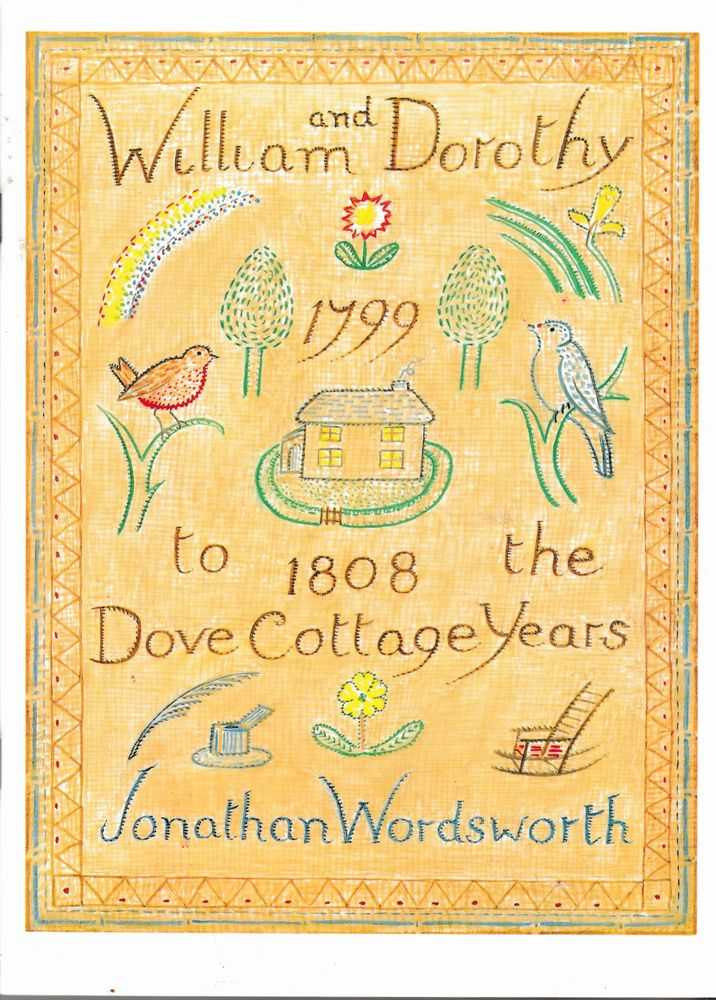 Image for William and Dorothy: The Dove Cottage Years 1799-1808