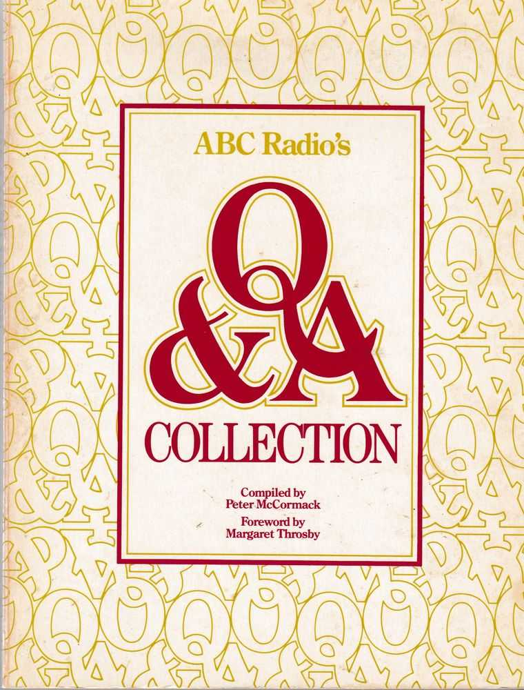 Image for ABC Radio's Q & A Collection