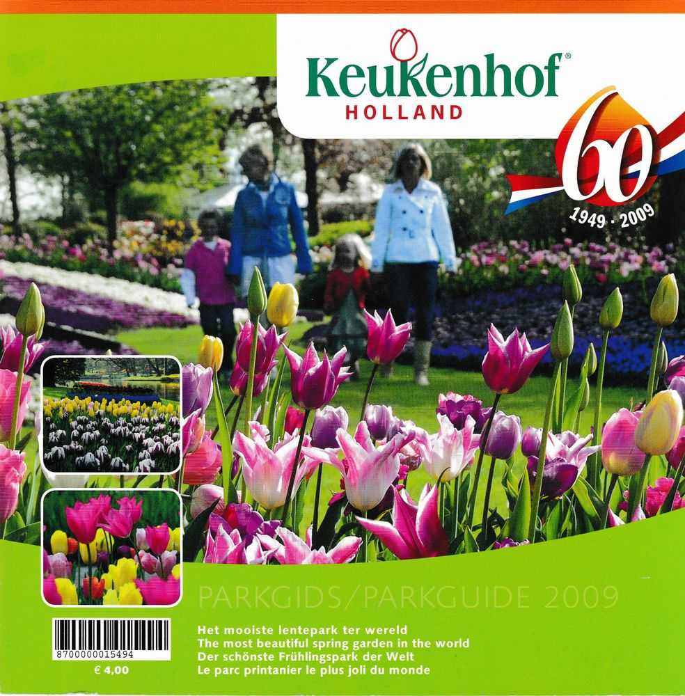 Image for Keukehof Holland 60 1949-2009 Pargids/ Parkguide: The Most Beautiful Spring Garden in the World