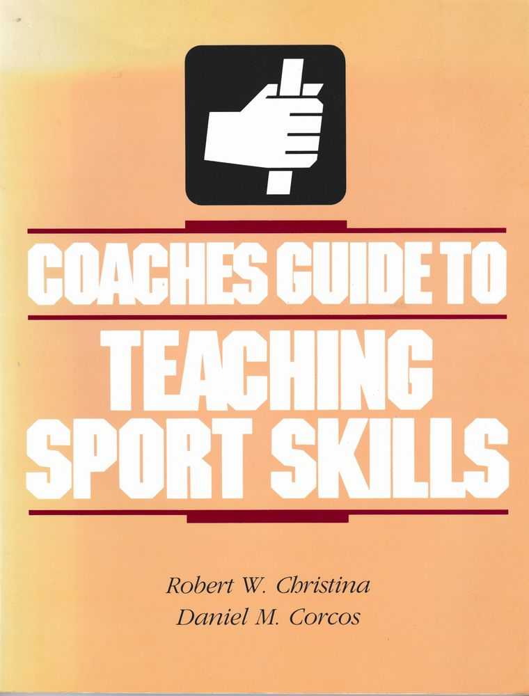 Image for Coaches Guide to Teaching Skills