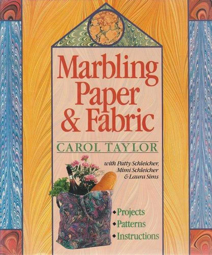 Image for Marbling Paper & Fabric