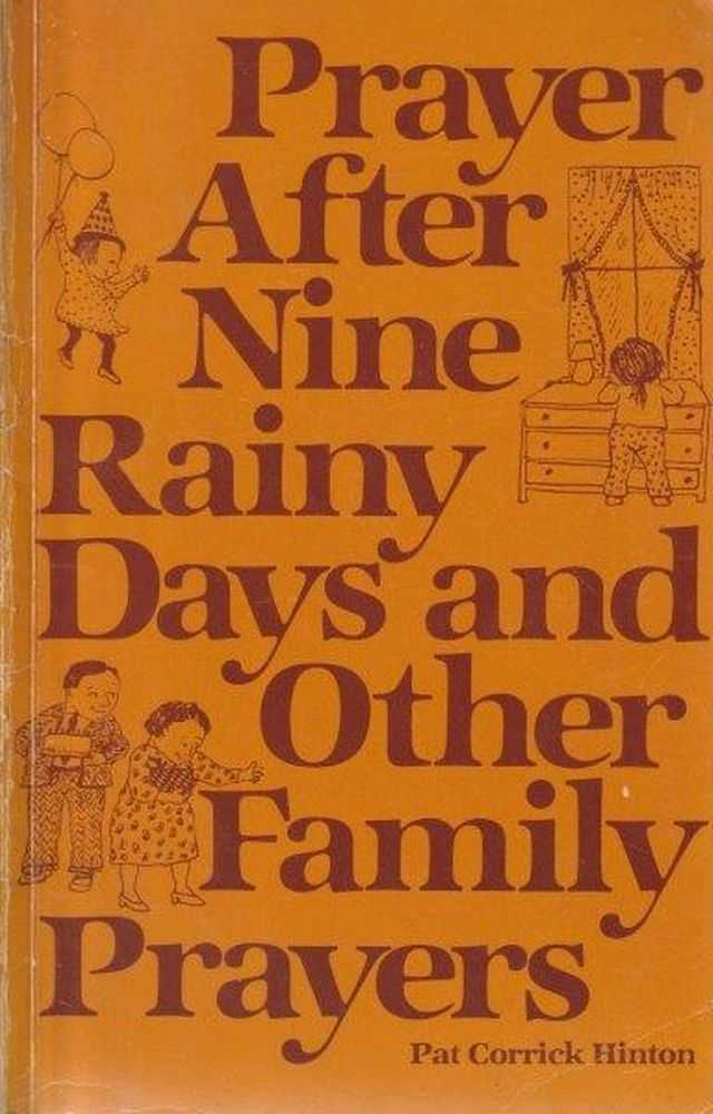 Image for Prayer After Nine Rainy Days And Other Family Prayers