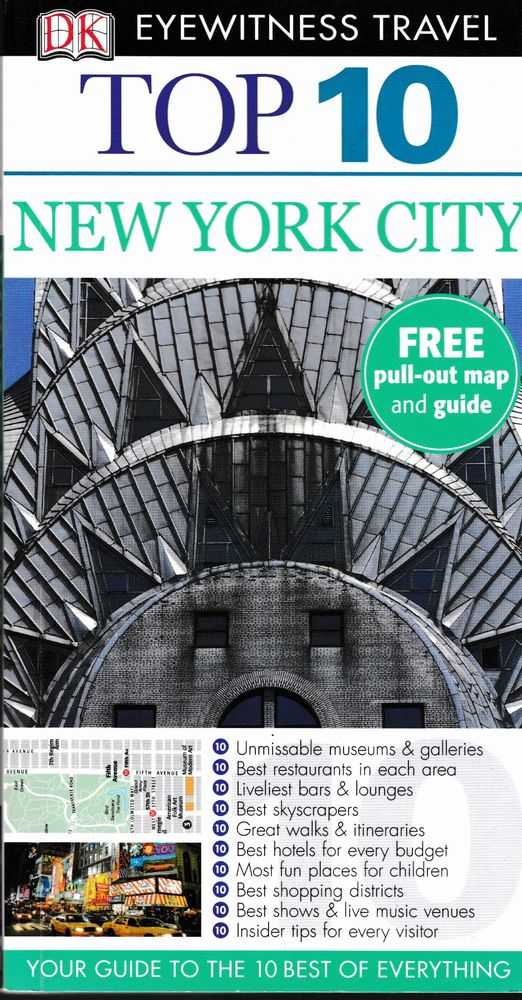 Image for Top 10 New York City: DK Eyewitness Guide - Your Guide to the Best of Everything