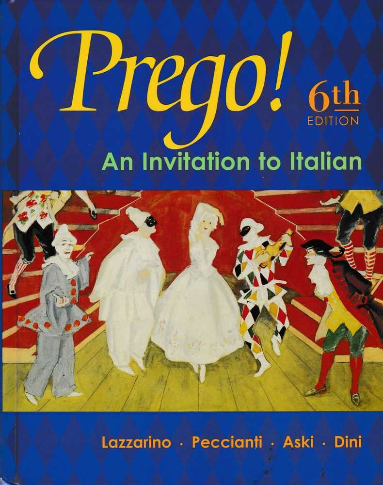 Image for Prego! An Invitation to Italian