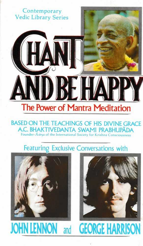 Image for Chant and Be Happy; The Power of Mantra Medication