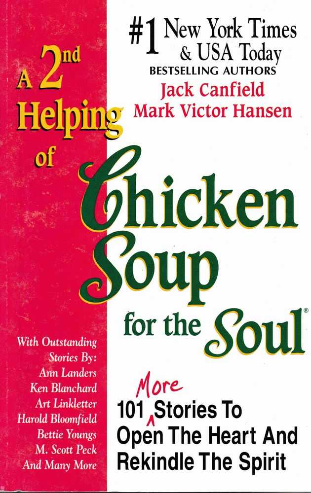 Image for A 2nd Helping of Chicken Soup for the Soul: 101 More Stories To Open Your Heart and Rekindle The Spirit