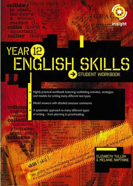 Image for Year 12 English Skills Student Workbook