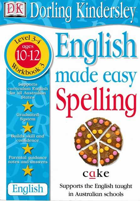 Image for English Made Easy: Spelling levels 3-4 Ages 10-12 Workbook 3