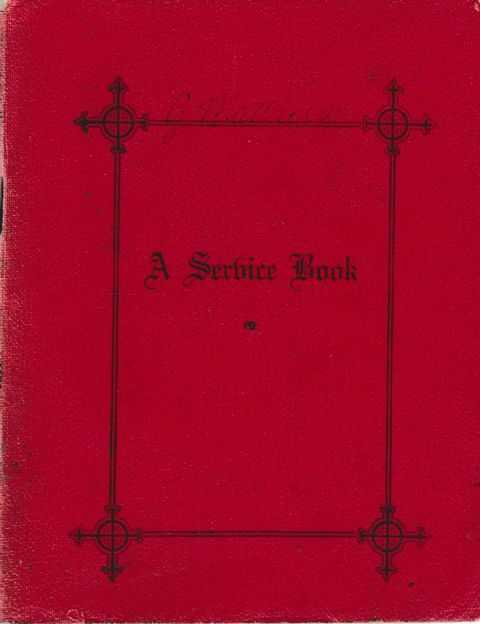 Image for A Service Book