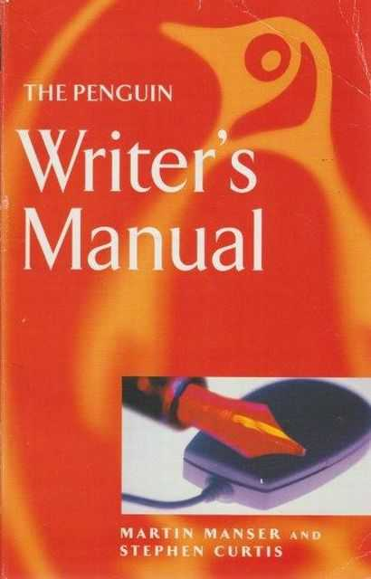 Image for The Penguin Writer's Manual
