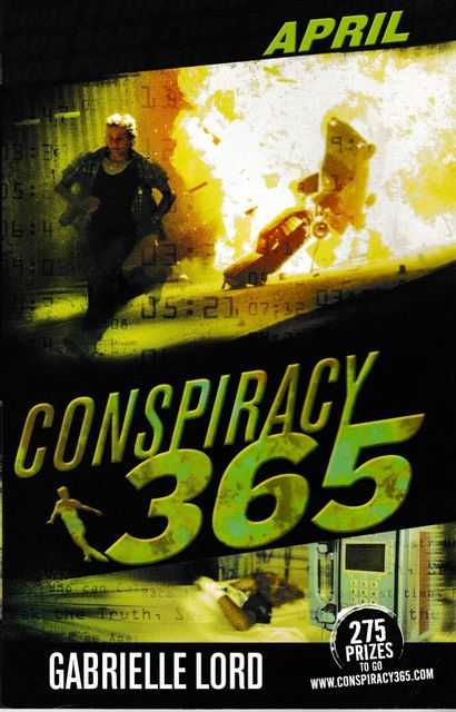 Image for Conspiracy 365: Book Four: April