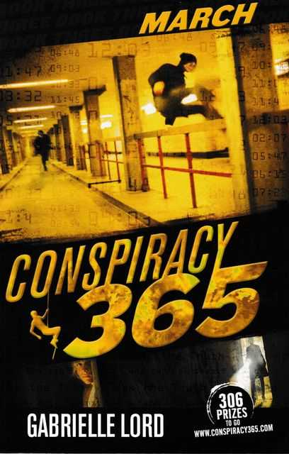 Image for Conspiracy 365: Book Three: March