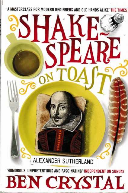 Image for Shakespeare in Toast