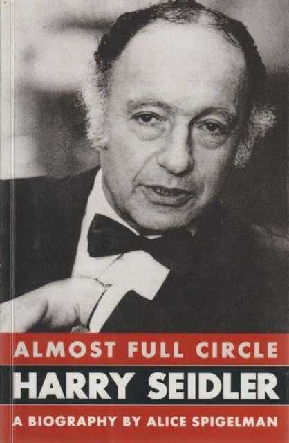 Image for Harry Seidler - Almost Full Circle