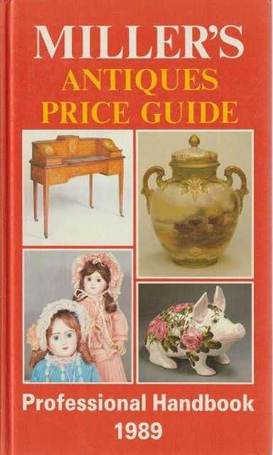 Image for Miller's Antiques Price Guide - Professional Handbook 1989