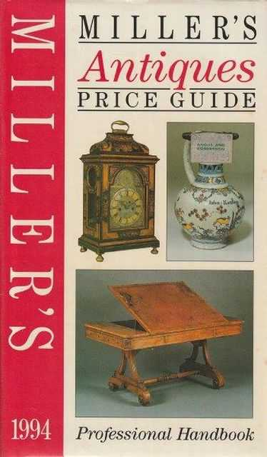 Image for Miller's Antiques Price Guide - Professional Handbook 1994