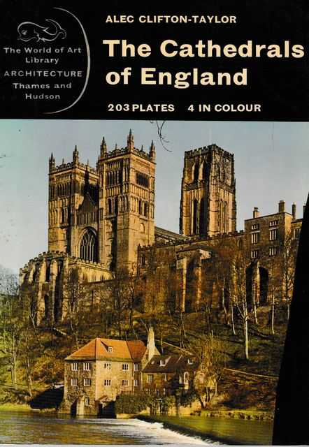 Image for The Cathedrals of England [The World of Art Library - Architecture]