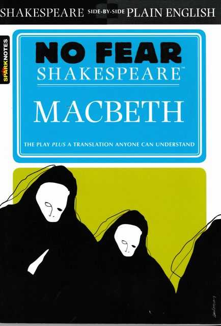 Image for No Fear Shakespeare: Macbeth [Shakespeare Side-By-Side Plain English]