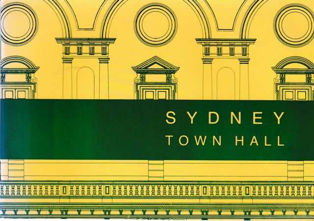 Image for Sydney Town Hall