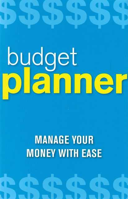 Image for Budget Planner: Manage Your Money With Ease