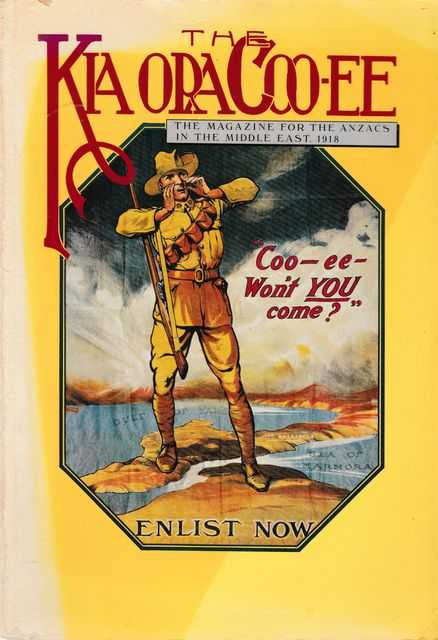 Image for The Kia Ora Coo-ee: The Magazine for the Anzacs In The Middle East 1918