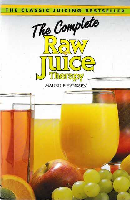 Image for The Complete Raw Juice Therapy