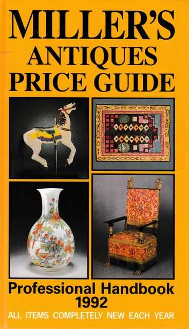 Image for Miller's Antiques Price Guide Professional Handbook 1992 [Volume XIII]