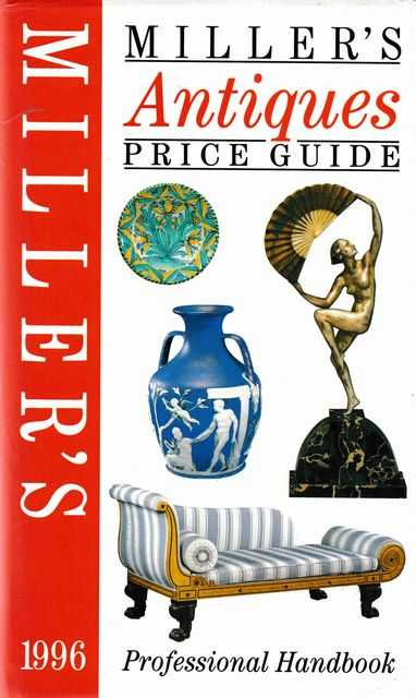 Image for Miller's Antiques Price Guide Professional Handbook 1996 [Volume XVII]