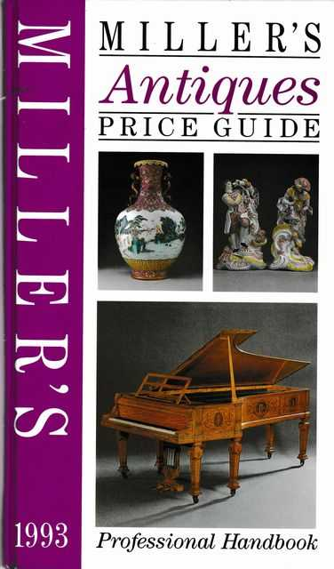 Image for Miller's Antiques Price Guide Professional Handbook 1993 [Volume XIV]
