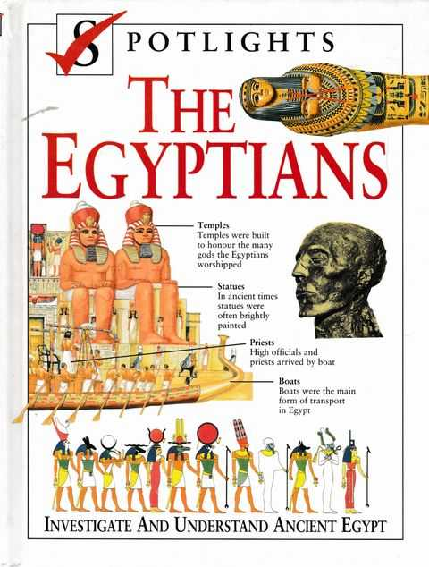 Image for Spotlights: The Egyptians: Investigate and Understand Ancient Egypt
