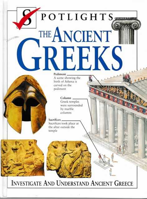 Image for Spotlights: The Ancient Greeks: Investigate and Understand Ancient Greece